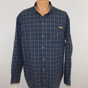 Columbia long sleeve button down shirt.  XXL